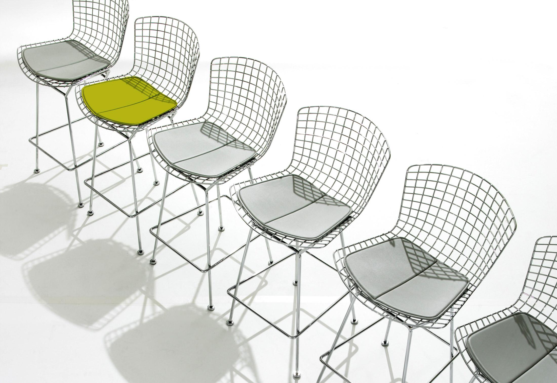 Alivar bertoia sedia design 4u store for Chaise quadrillage
