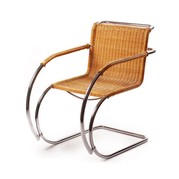 Alivar mies van der rohe sedia canna design 4u store - Mies van der rohe sedia ...