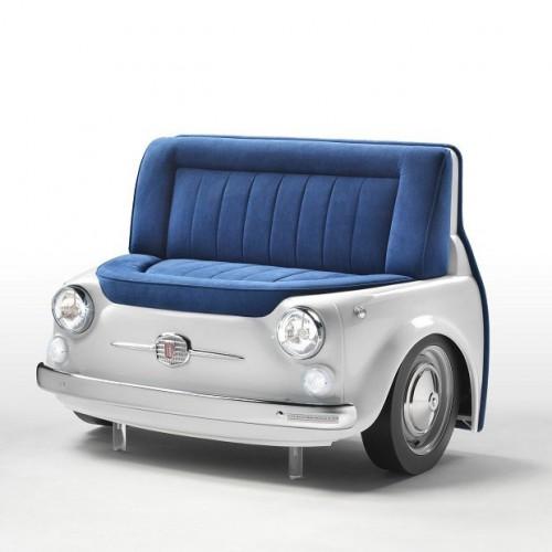 Lapo elkan fiat 500 panorama divano design 4u store - Fiat 500 divano ...