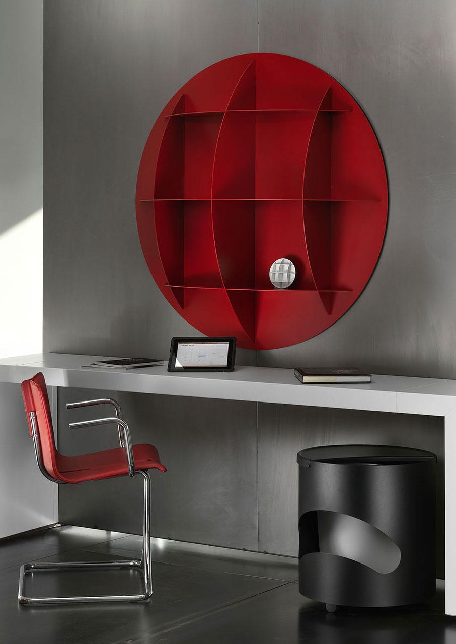 joe colombo minicontinental libreria. Black Bedroom Furniture Sets. Home Design Ideas