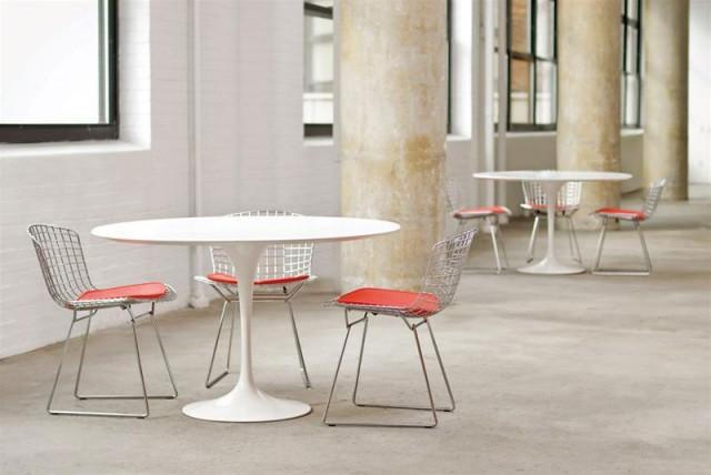 Tavolo Saarinen Marmo : Saarinen tulip tavolo rotondo design u store
