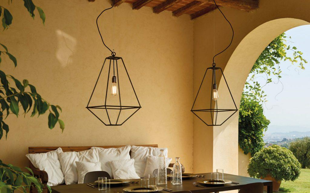 Lanterna giardino lanterna da giardino da terra con candela il