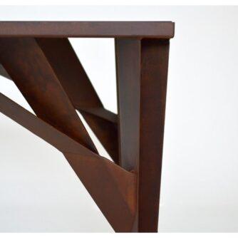 tavolo corten Tree x TrackDesign